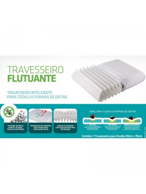 Travesseiro No Allergy Flutuante Fibrasca