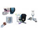 Aparelhos de Pressão, Diabetes, Oxímetria Estetoscópios