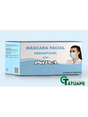 Máscara Tripla Cirúrgica INOVA c/ 50unidades